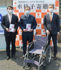 さらなる福祉充実による健やかな社会創りを目的に「熊本県内の社会福祉協議会へ車…
